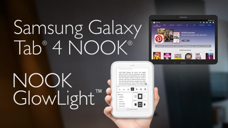 Kindle Vs Sony Reader: Nook Glowlight Vs Galaxy Tab 4 NOOK