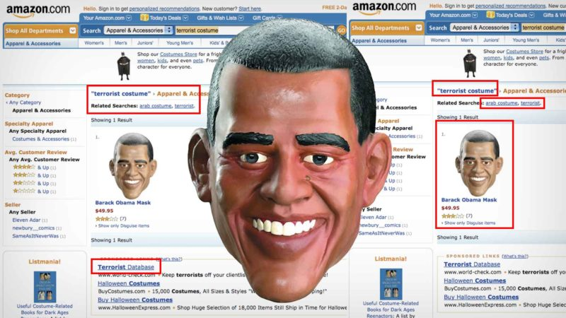 Barack Obama Halloween Mask Listed As A 'Terrorist Costume' On Amazon