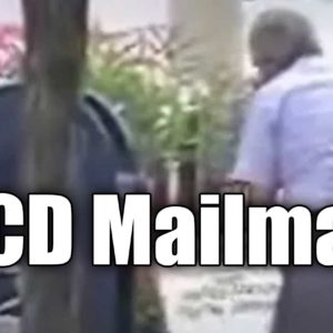 OCD Mailman Can't Stop Emptying An Already Empty Mailbox