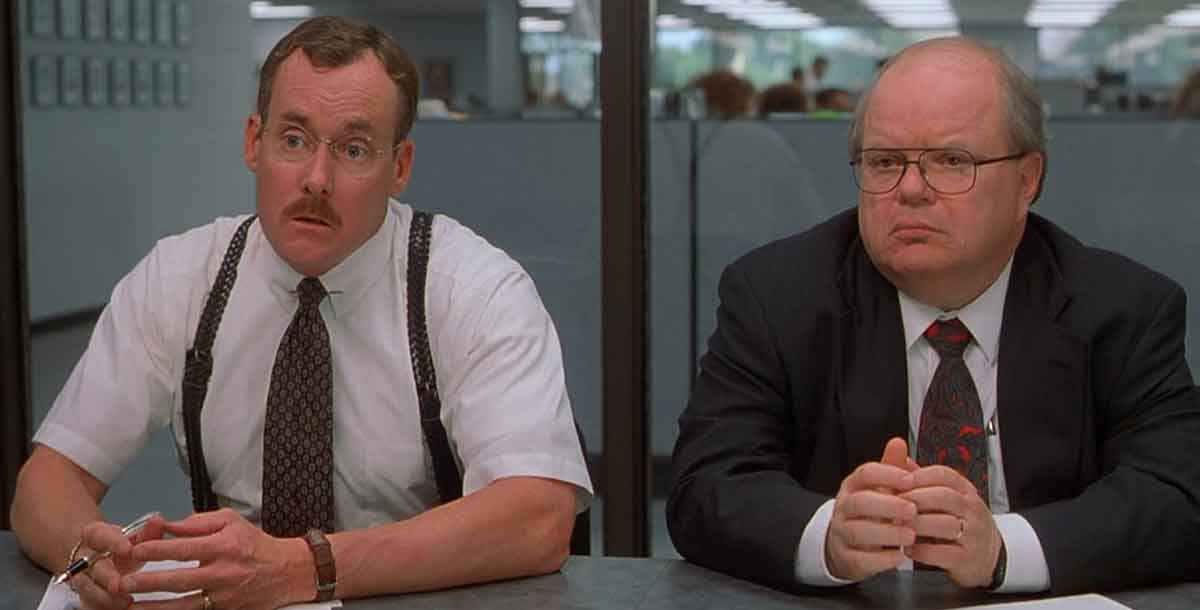 office space notmissing top 25 quotes from the movie office space (1999)
