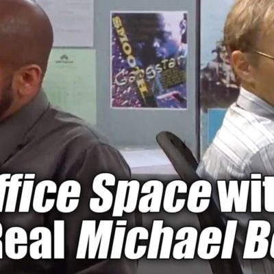 Office Space with the Real Michael Bolton