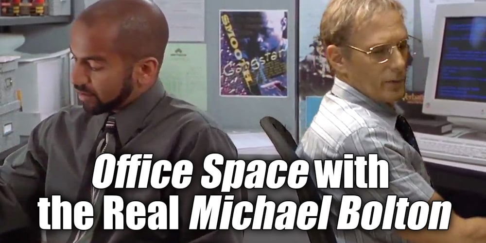 Office Space Quotes | Video Office Space With The Real Michael Bolton