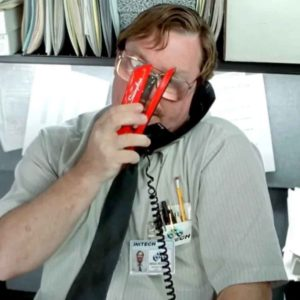 Vote For The Best Office Space Stapler GIF