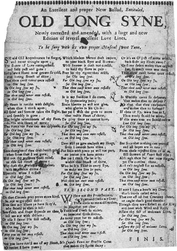 Auld Lang Syne Lyrics - Old Long Syne Lyrics - Auld Lang Syne Meaning