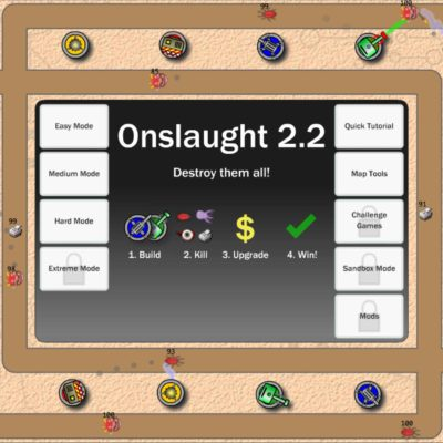 Onslaught 2.2 Tower Defense