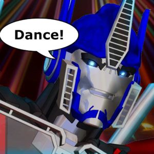 WATCH: The Evolution Of Dance With Optimus Prime?!