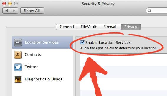 Location Services Mac - How To Enable Location Services Mac OS X