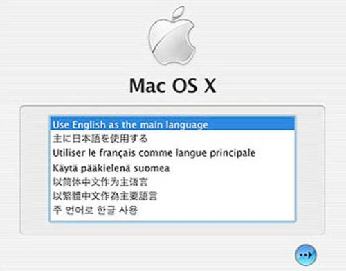 Mac OS X Select A Language - How To Reset Your Password - Mac OS X Password Reset Tutorial