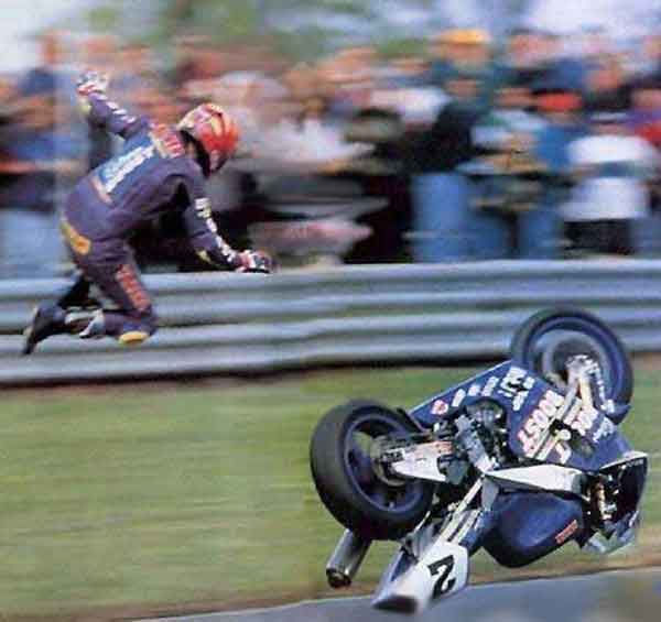 Motorcycle Racer Vs Curve