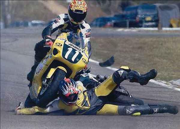 Motorcycle Vs Arm