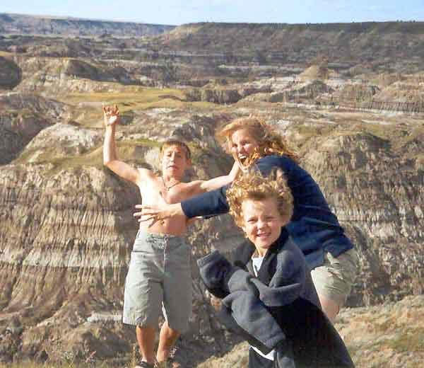 Family Photo Vs Gravity