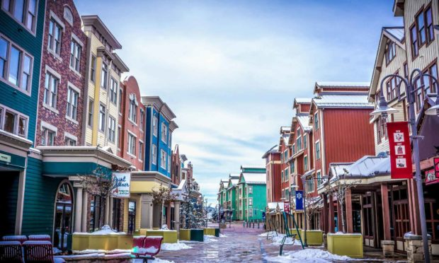Park City Utah Town Architecture Colorful Travel - Sundance Survival Guide