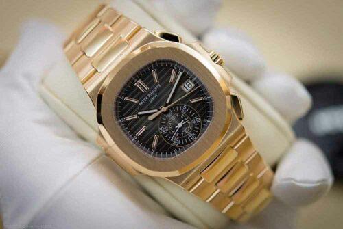 Patek Philippe Nautilus 40MM Rose Gold Men's Watch
