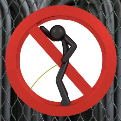 What would happen if you peed on an electric fence?