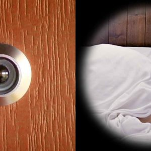 This Creepy Reverse Peephole Viewer Lets You Look Inside A Room