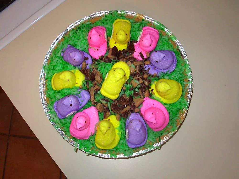 Peeps Pie: Add Your Toppings