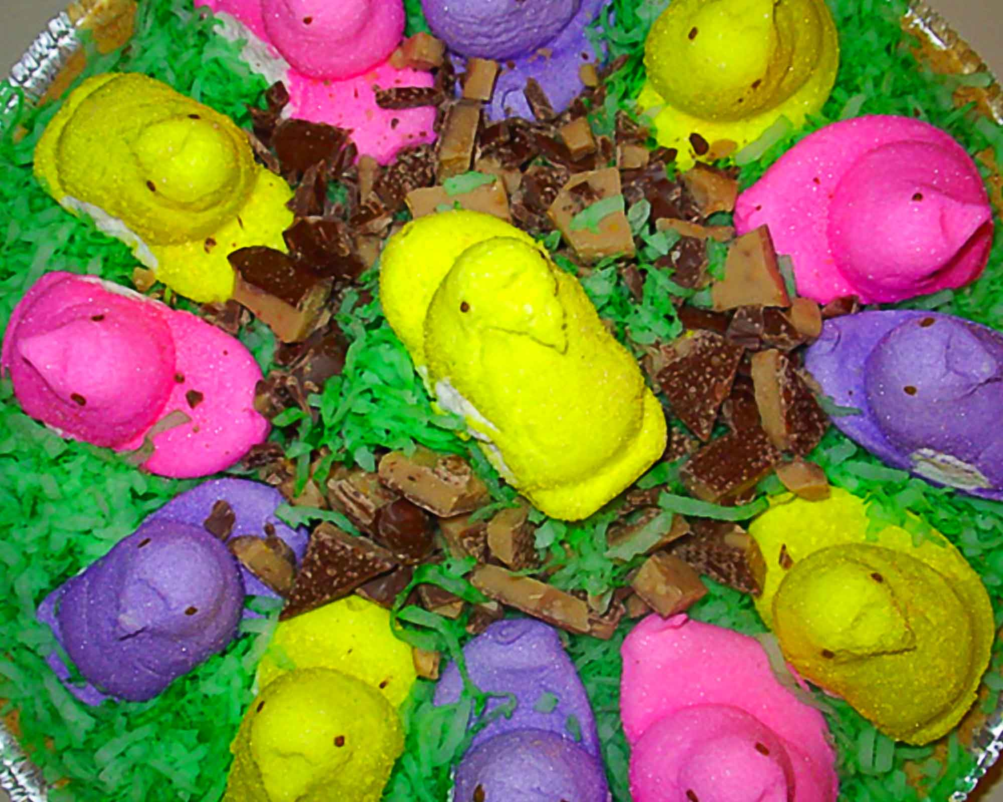 mores the peeps s mores for easter leftover peeps s more ice cream pie ...
