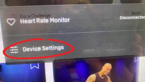 Select &Quot;Device Settings&Quot;