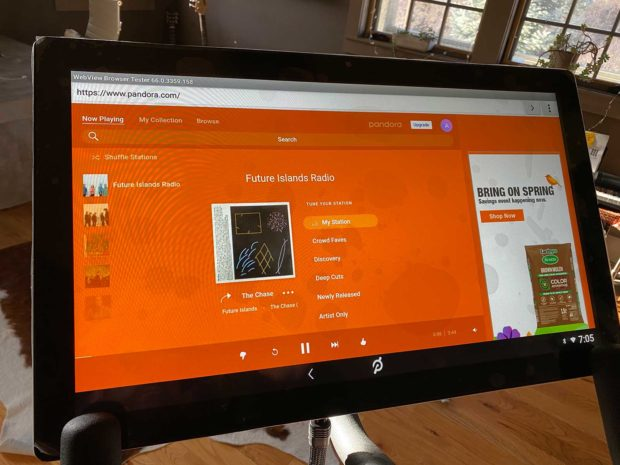 How To Play Your Own Music On Peloton From Pandora