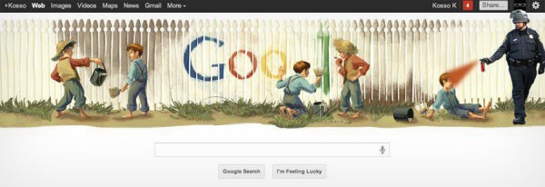 Pepper Spray Meme: Google Doodle Version