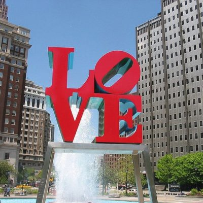 Philadelphia LOVE Sign - City of Brotherly Love
