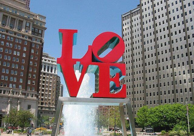 Philadelphia LOVE Sign - City of Brotherly Love