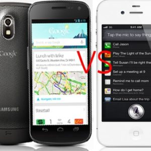 iPhone 5s vs Samsung Galaxy S4 vs Google Nexus 5