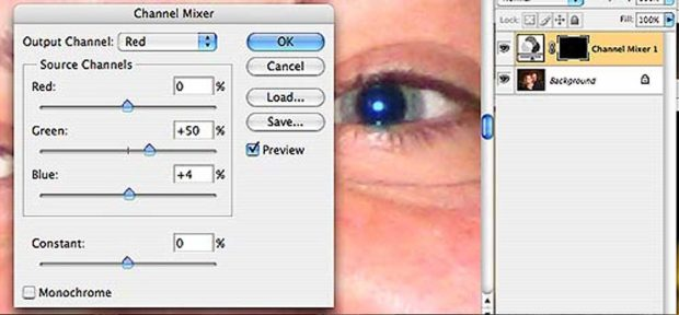 Adjust Eye Color - How to remove red-eye in Adobe Photoshop