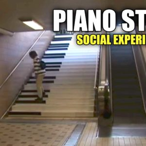 Piano Stairs: A Social Experiment To Help Increase Exercise