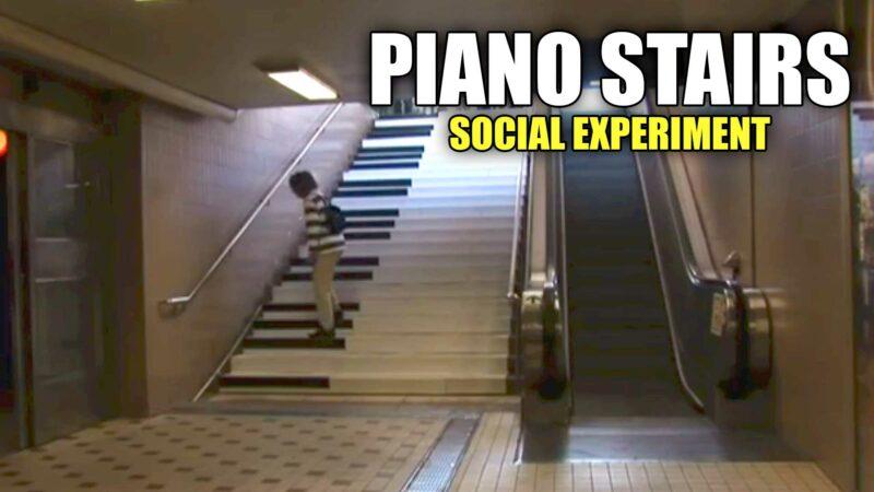 Piano Stairs