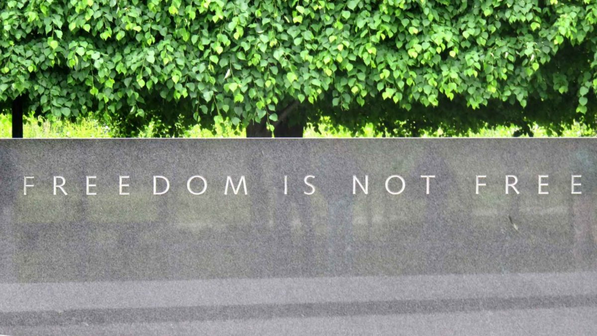 Vietnam War - Freedom Is Not Free - Platoon Quotes