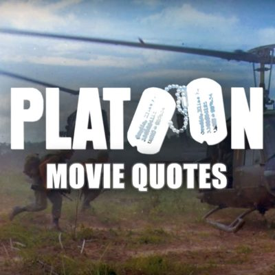 Platoon Movie Quotes