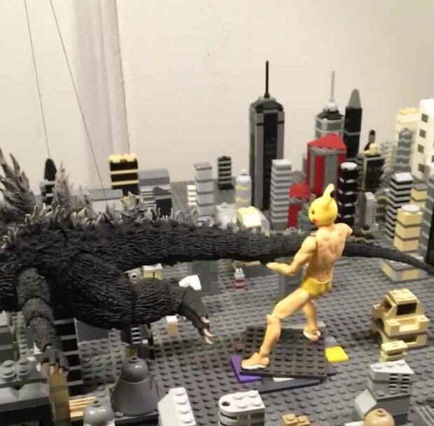 Pokemon Vs Godzilla