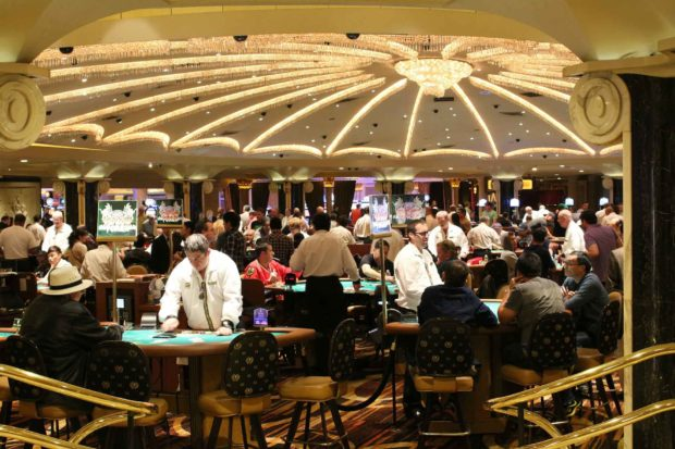 Poker Tables At A Casino