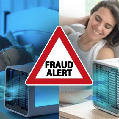 Polaire Personal Cooling Device - Fraud Alert