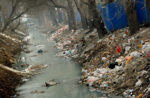 pollution-trash-river
