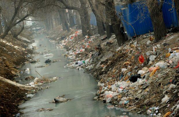 Pollution-Trash-River