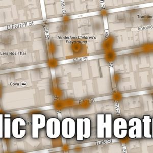 This San Francisco Poop Heatmap Helps Pedestrians Avoid Certain Sidewalks