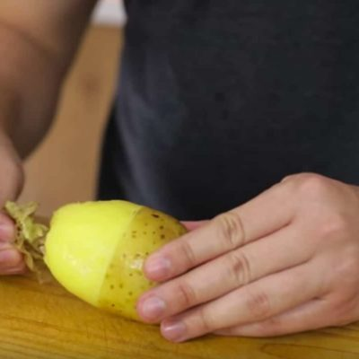How to Peel a Potato