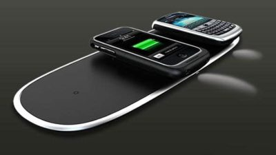 Lose the Wire Clutter with Powermat Wireless Chargers
