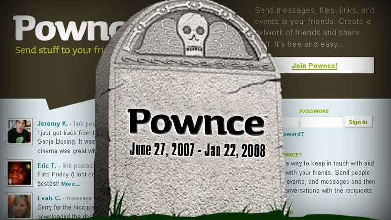 Pownce RIP