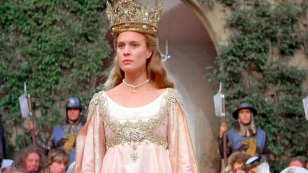 Robin Wright As Princess Buttercup - The Princess Bride Cast