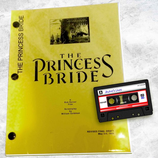 Andre The Giant Used A Tape Recorder To Learn His Lines From The Princess Bride Script
