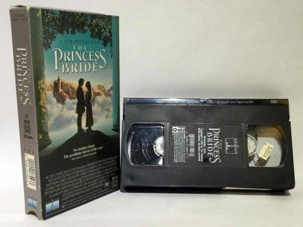 The Princess Bride Movie On Vhs