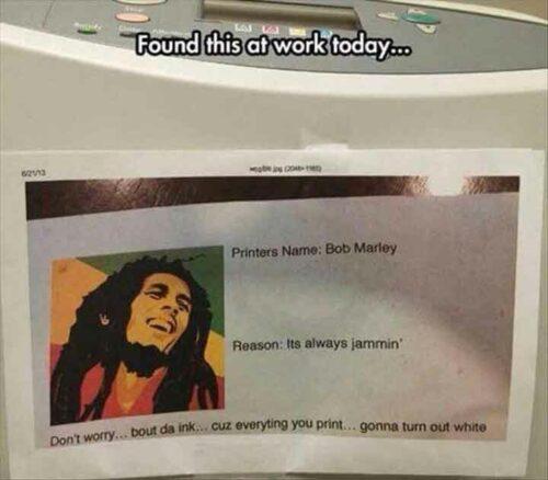 Printer Jam Joke - Funny Computer Jokes