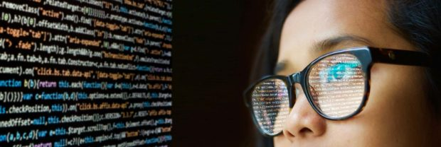 Internet'S Behind-The-Scenes Protectors Foil Hacker Attack - Programmer Woman Glasses 1