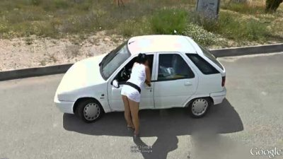 Prostitutes: Google Street View