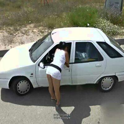 Prostitutes: Google Street View