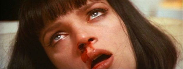 """You're going to give her an injection of adrenaline directly to her heart."" - Pulp Fiction Quotes"