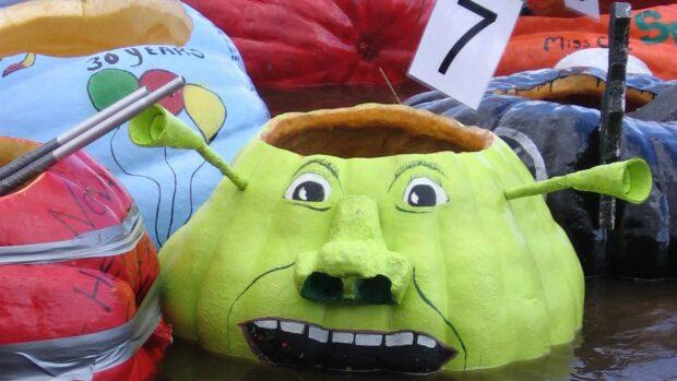 The Unusual Sport of Giant Pumpkin Boat Racing